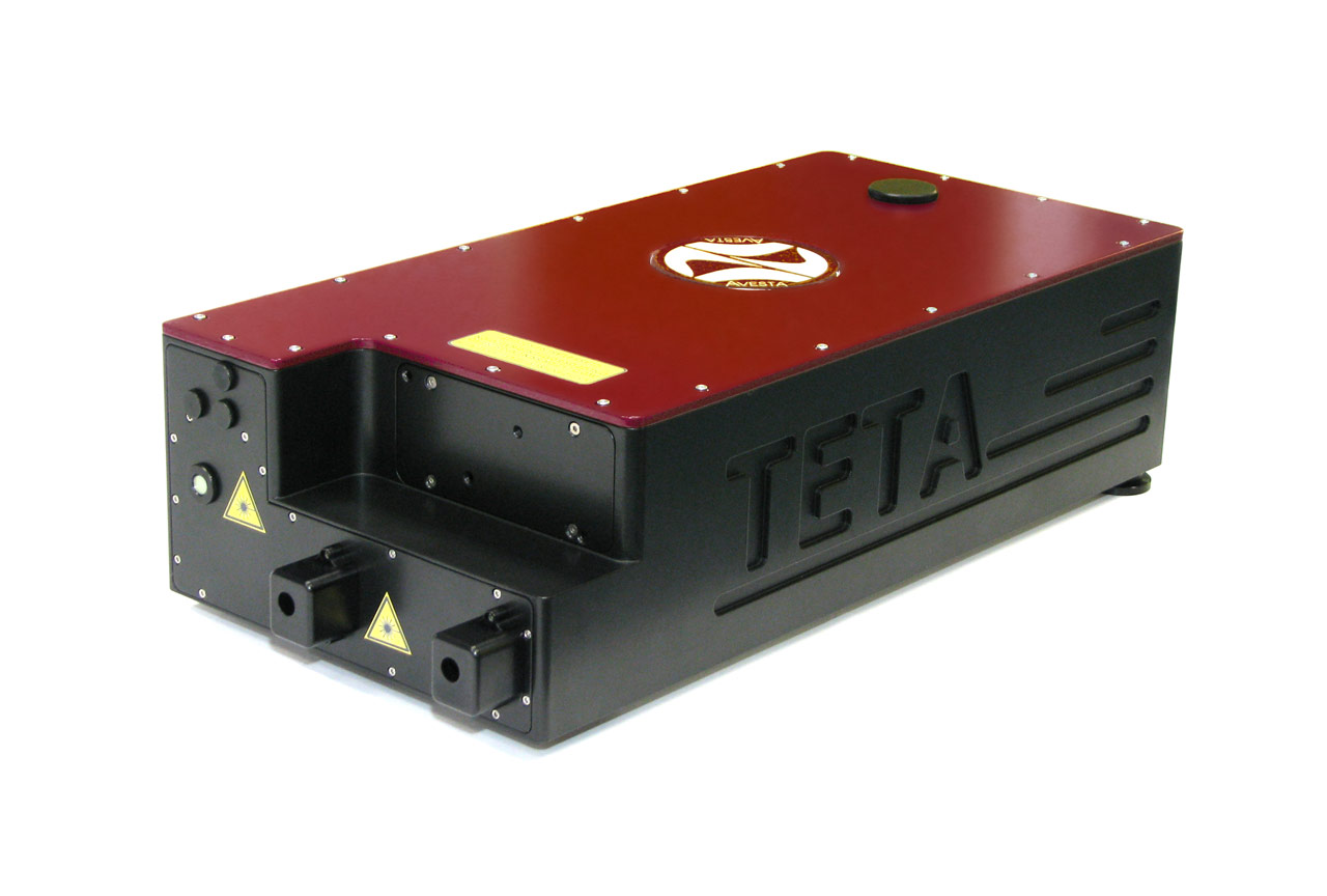 TETA-6 with built-in second and fourth harmonic generators (SHG and FHG) with motorized switching