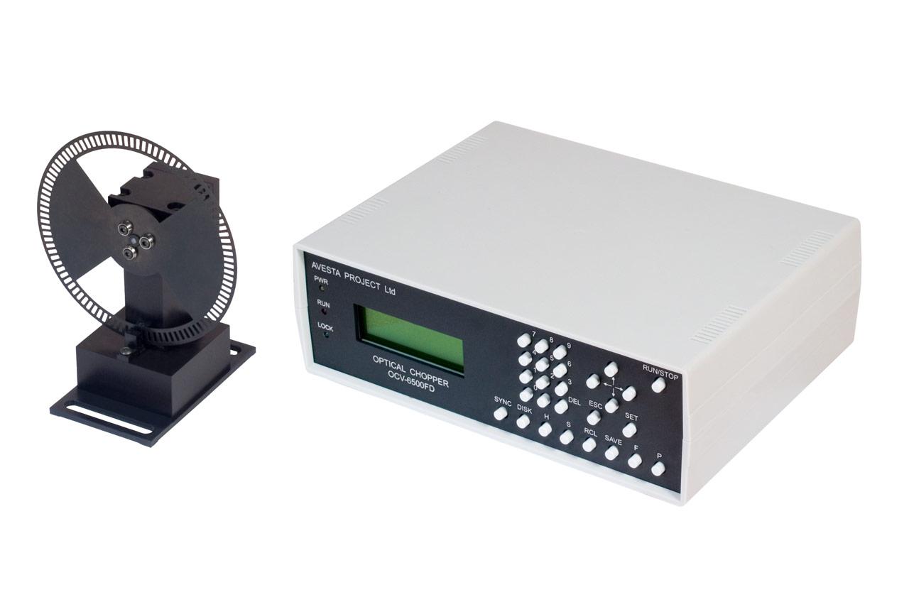 Оптомеханический модулятор с блоком управления OCV-10kFD