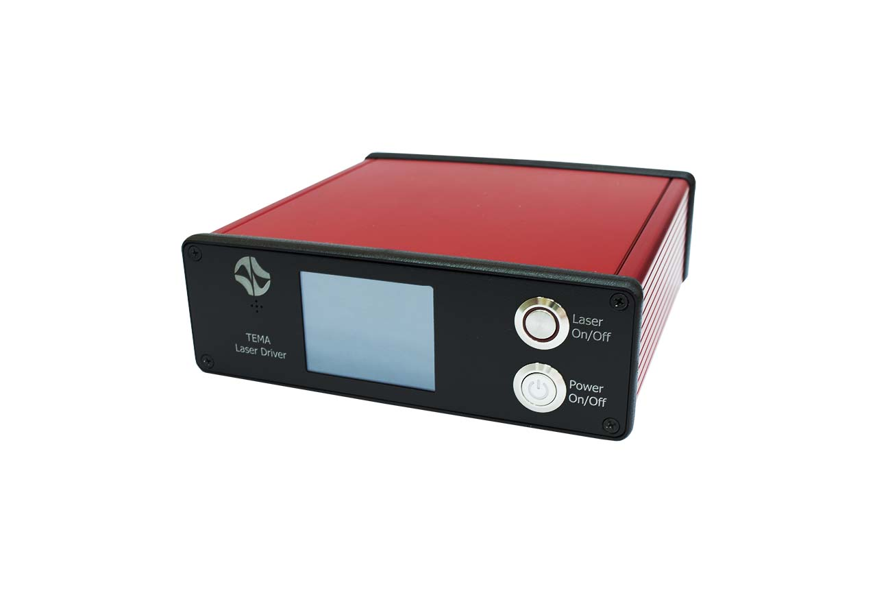The TEMA/TiF-DP series compact touch-screen diode pump control unit
