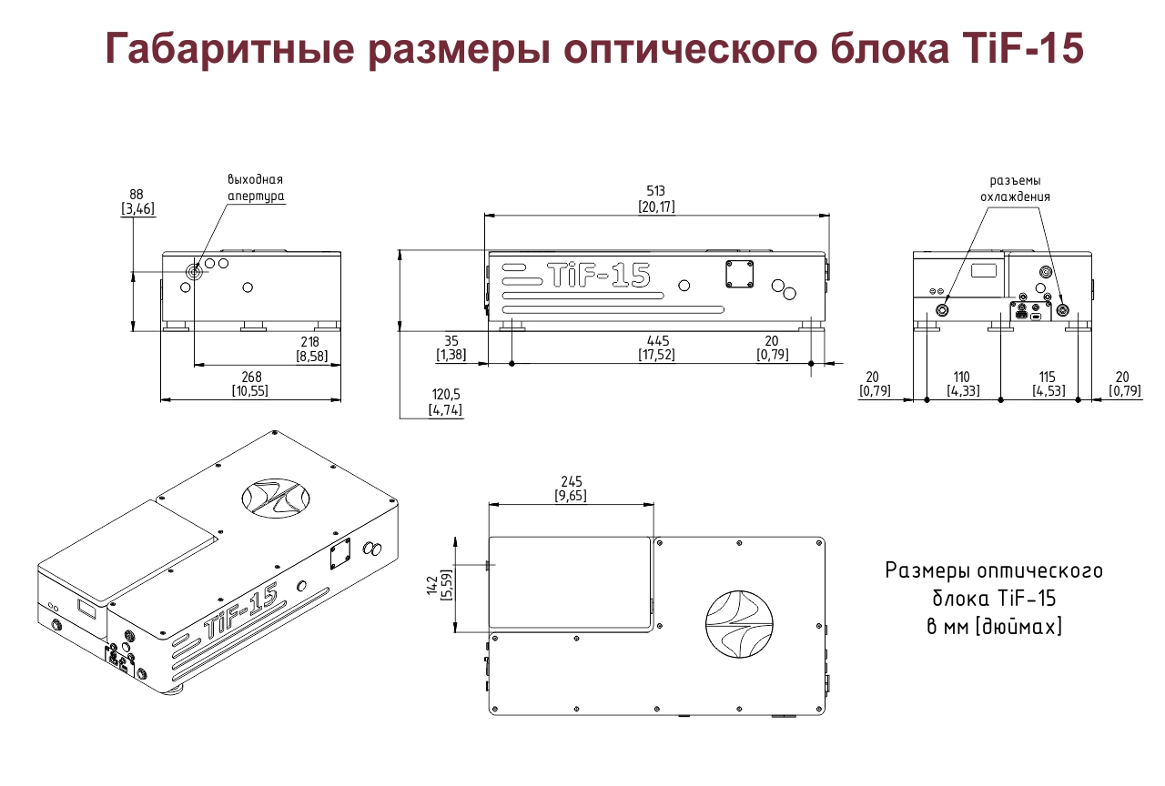 tif-15 dimensions
