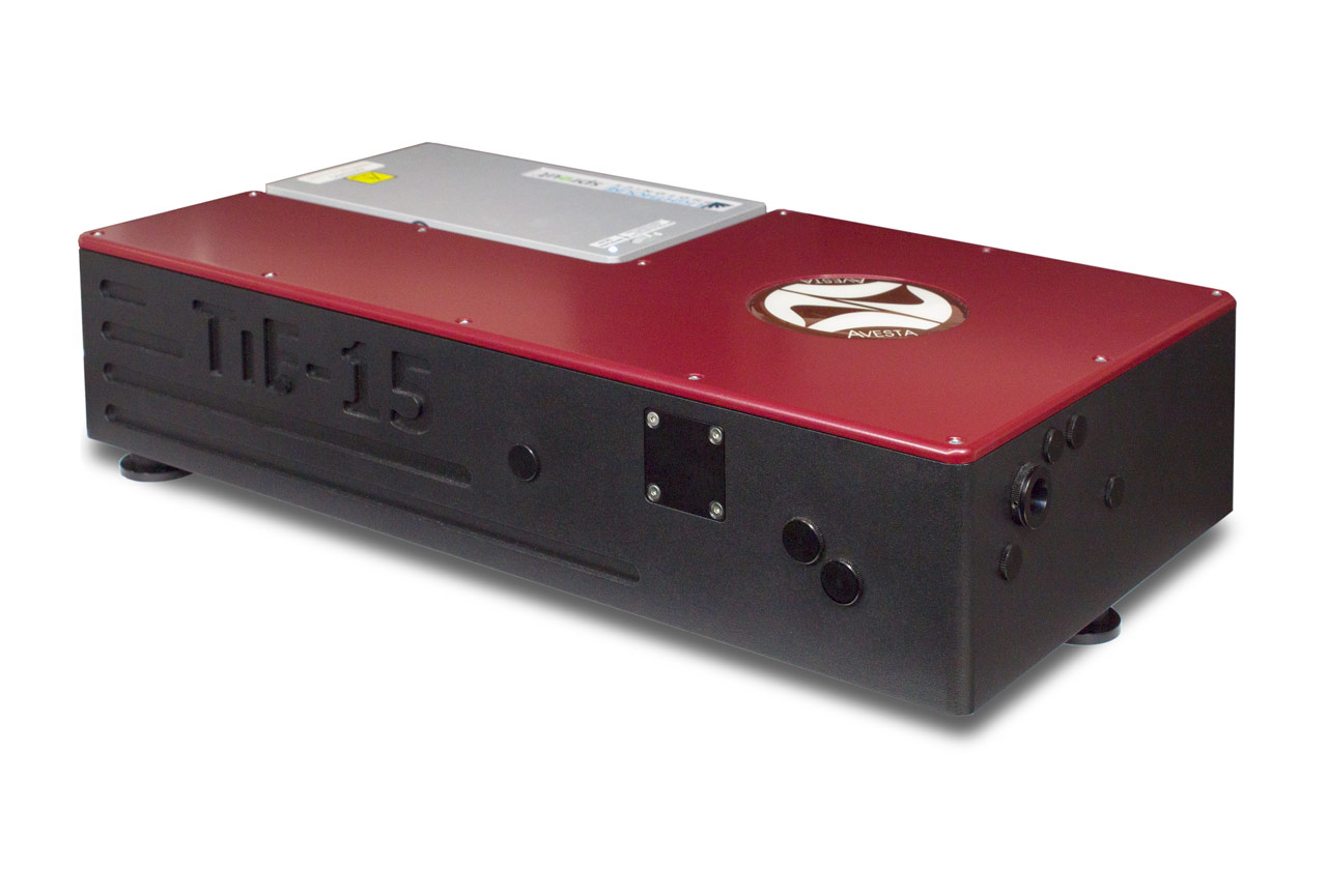 TiF-SP Laser with an integrated, on-board DPSS pump laser