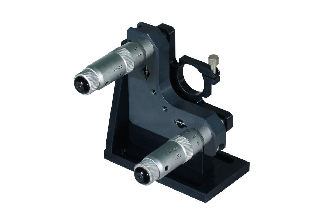 MMB-LK. Большой прецизионный юстируемый держатель для оптики, левый