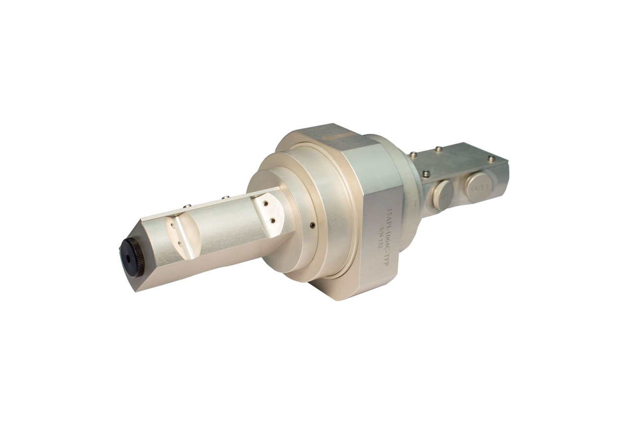 The 15AFI-1064C-TFP Faraday optical isolator with thin-film polarizers and 15-mm CA for high-energy 1064-nm lasers