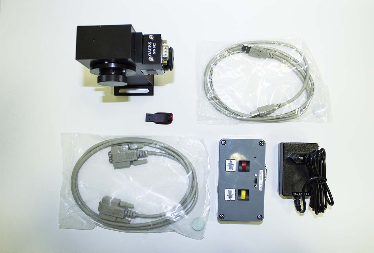 The OAGP-10-S supply package