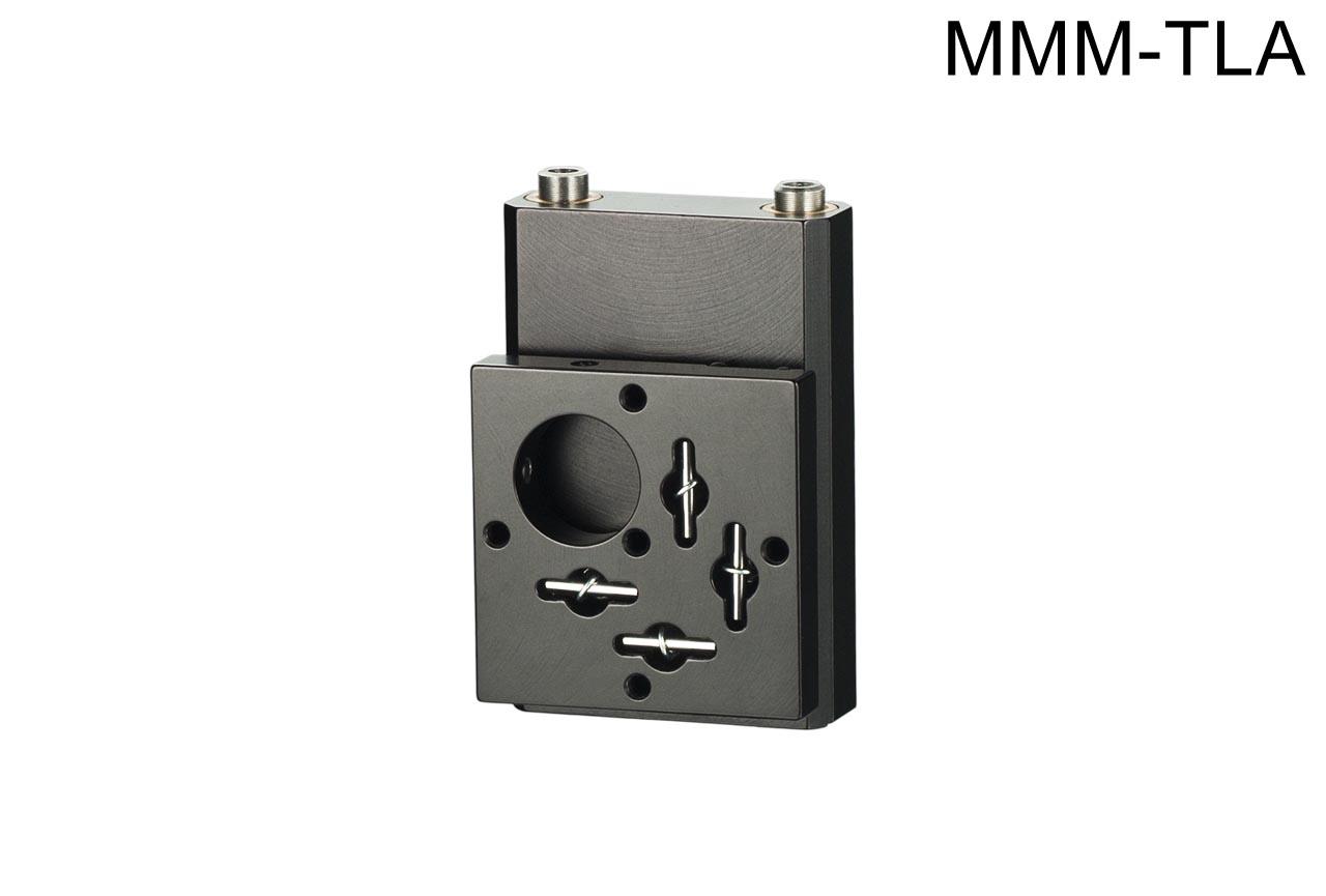 MMM-TLA. Средний вертикальный юстируемый держатель для оптики с потайными винтами, левый