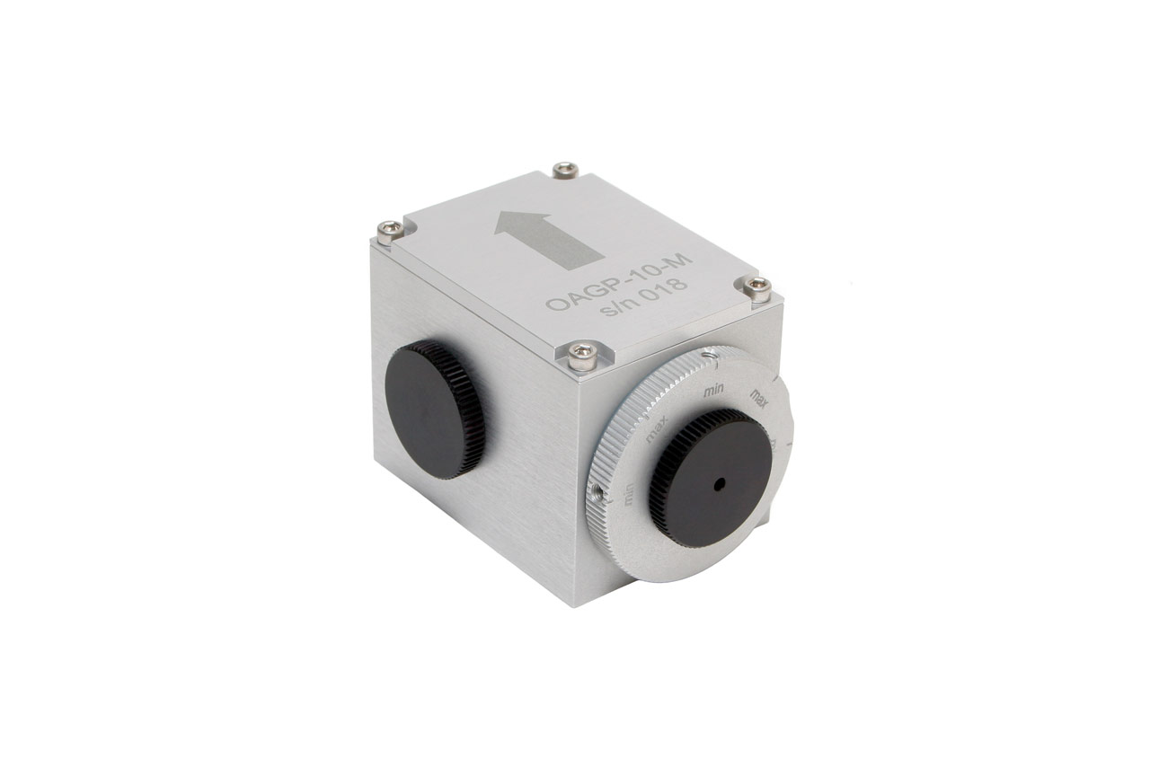 The OAGP-10-M optical attenuator