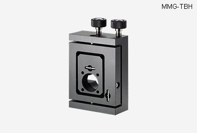 MMG-TH. Шарнирный регулируемый держатель для оптики с винтами с круглыми ручками
