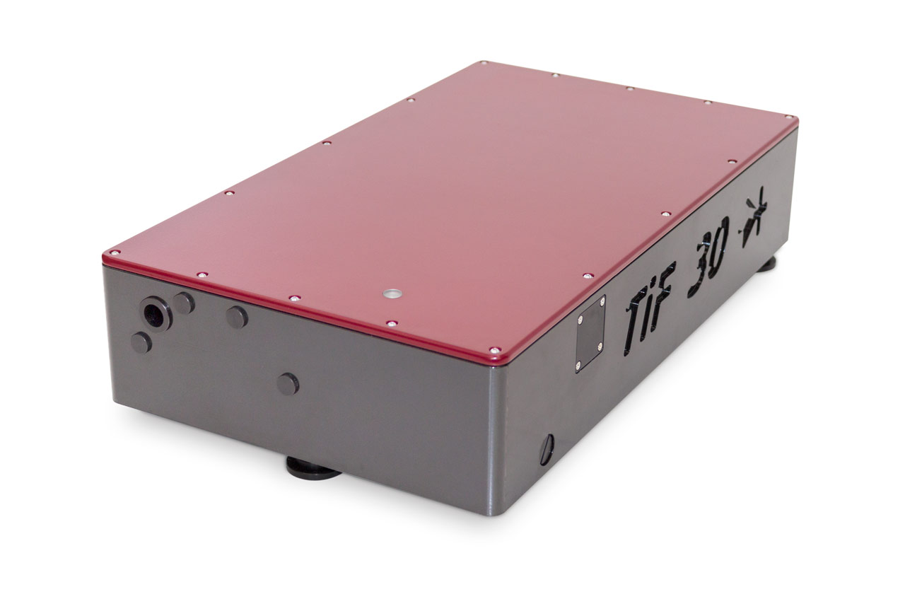 The TiF-DP-30 femtosecond laser system with on-board pump source