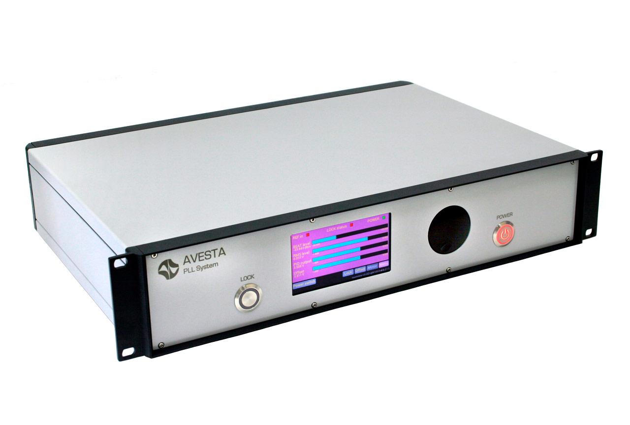 Электронный блок фазово-частотной привязки для установки в 19