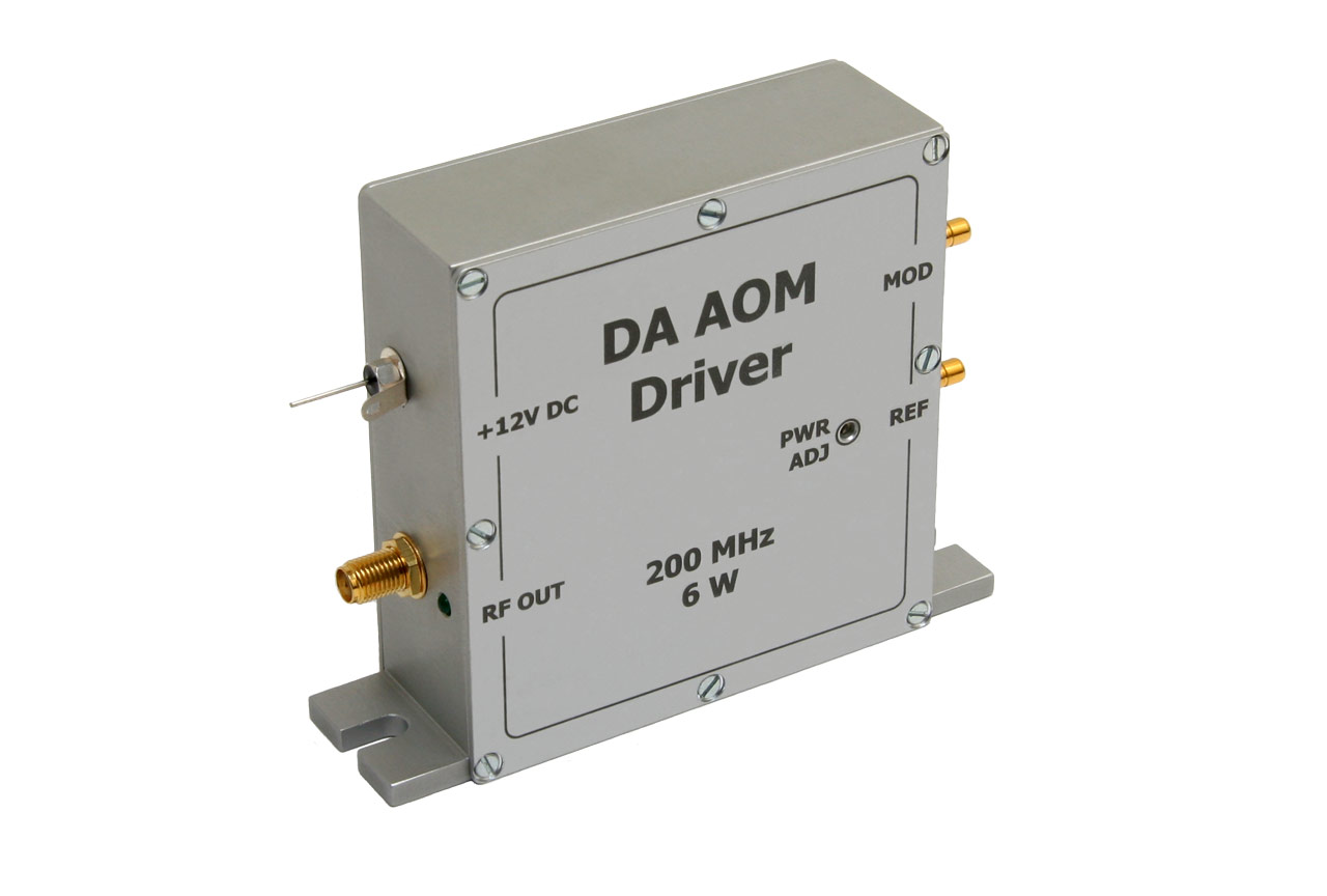 Драйвер акустооптического модулятора 6 Вт DA AOM-6W