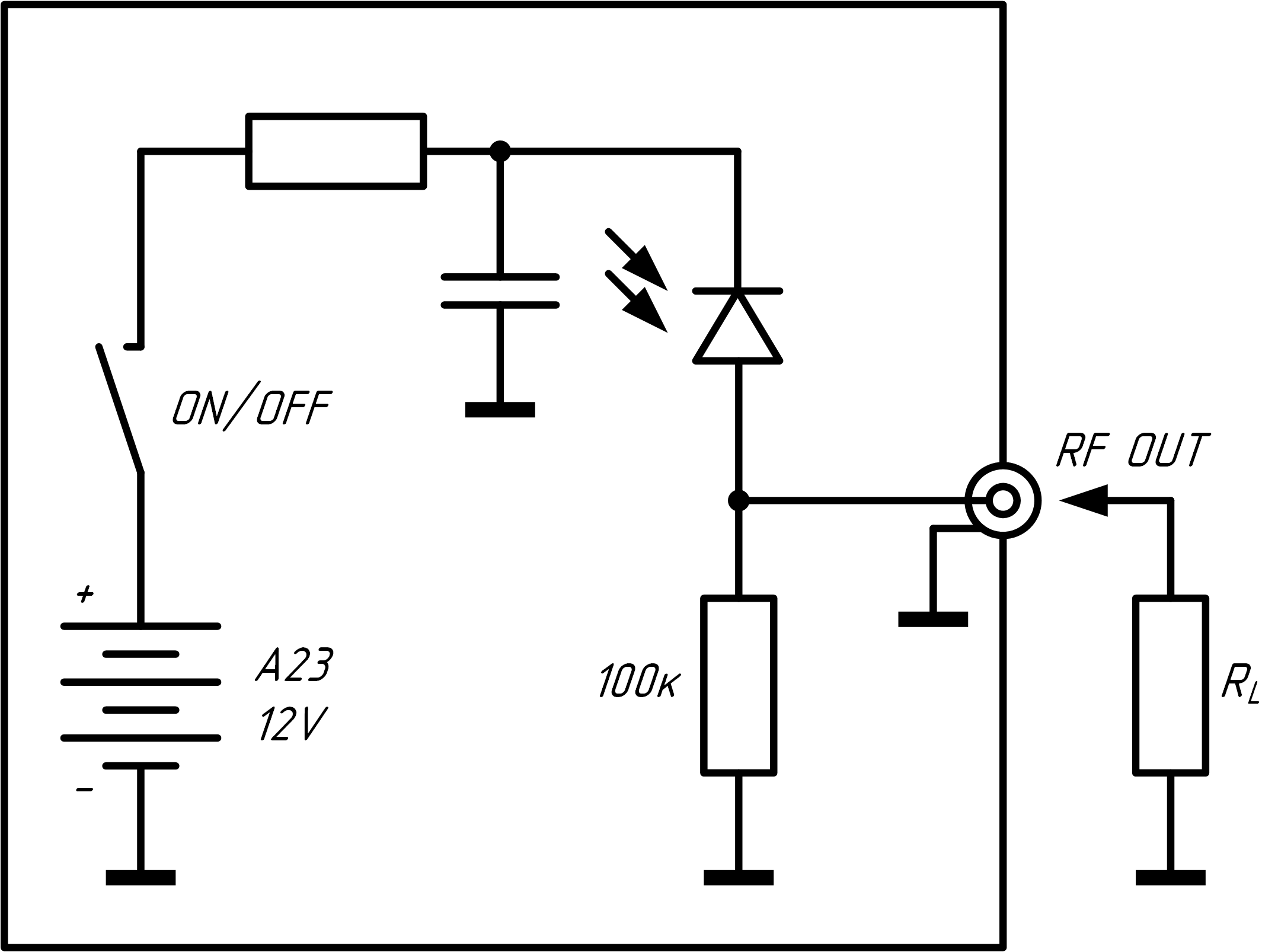 Схема OD-007BF