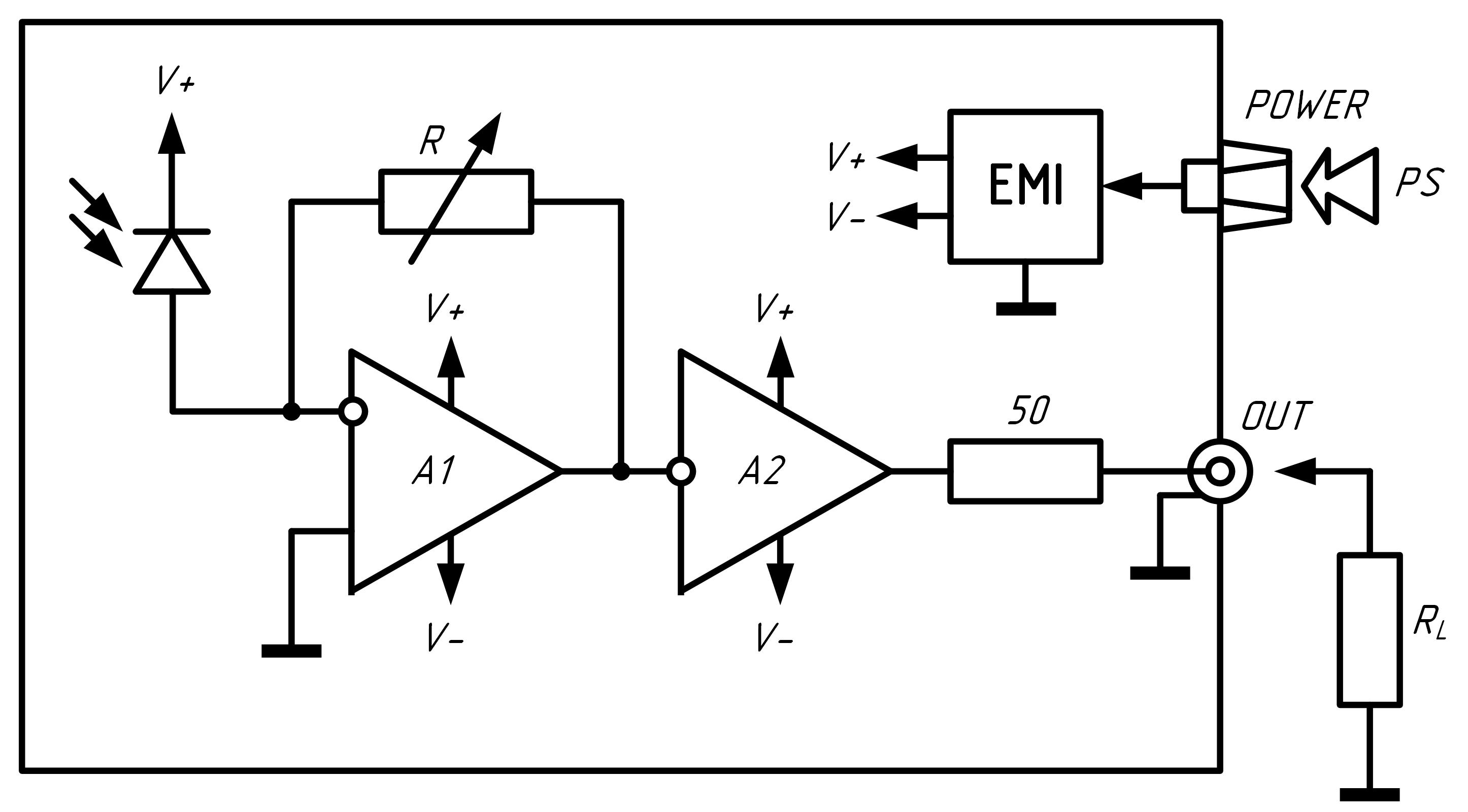 Схема приемника DAO3A SG