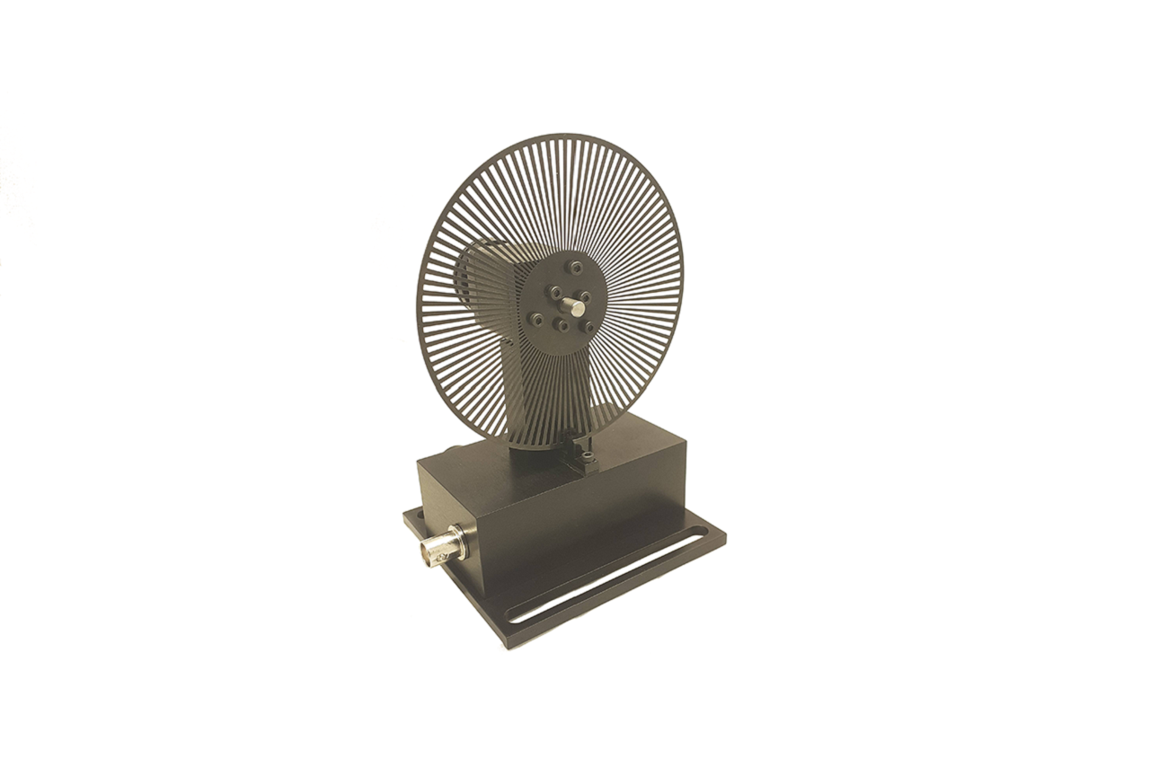 Оптомеханический модулятор на шаговом моторе OCV-SM